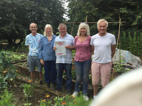 The Walled Garden at The Elms Wins Silver Award