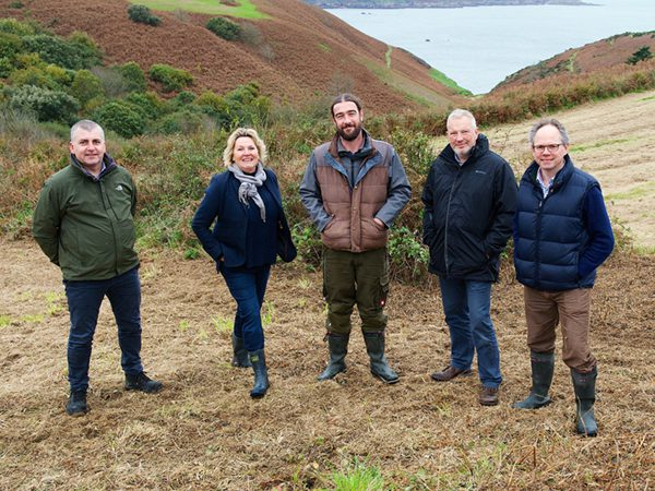 Jersey Electricity and Jersey Water join forces to plant 20-acre wood